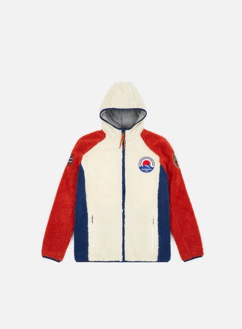 Sale Outlet Sweaters and Fleeces Napapijri Yupik Hooded 1 Jacket