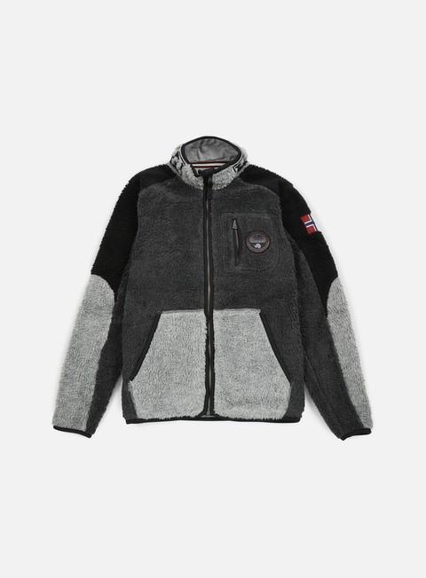 felpe napapijri yupik stand jacket black multi
