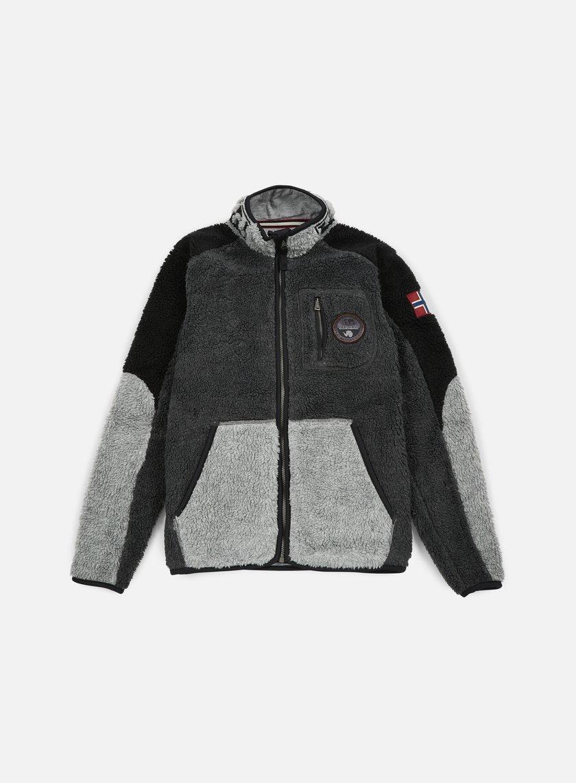 Napapijri - Yupik Stand Jacket, Black/Multi