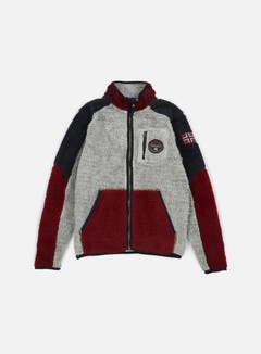 Napapijri - Yupik Stand Jacket, Grey/Multi