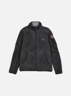 Napapijri - Yupik Stand Solid Jacket, Dark Grey Melange 1