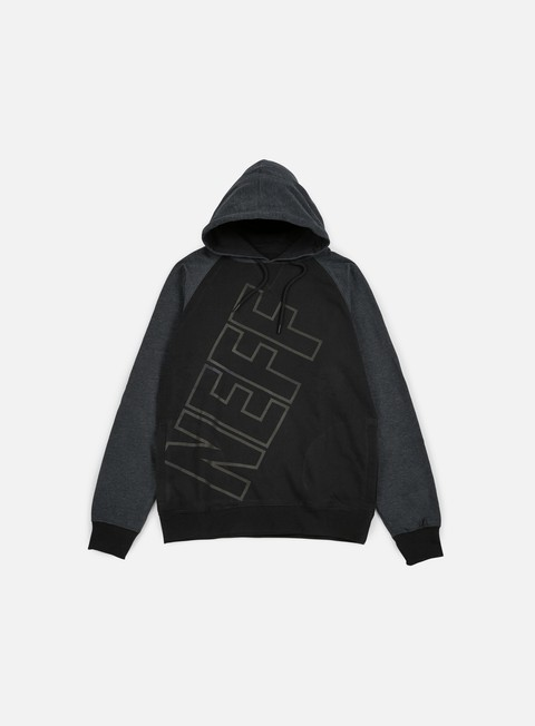 felpe neff corporate hoodie black