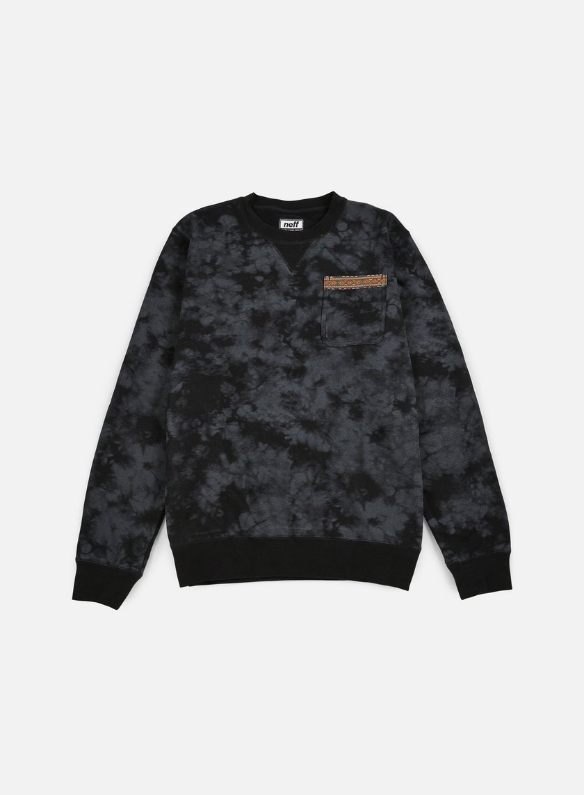 Neff - Hill Crewneck, Black