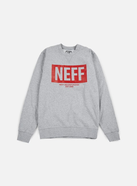 felpe neff new world crewneck athletic heather