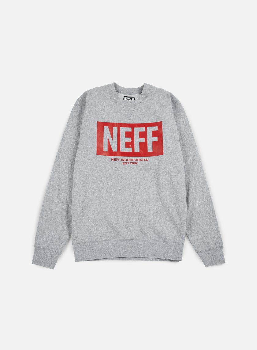 Neff - New World Crewneck, Athletic Heather