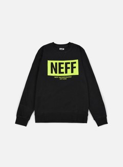 Neff - New World Crewneck, Black 1