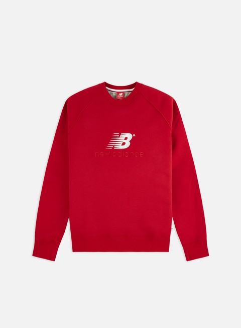 Outlet e Saldi Felpe Girocollo New Balance Athletics Premium Archive Crewneck