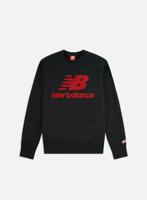 Outlet e Saldi Felpe Girocollo New Balance Athletics Stadium Crewneck