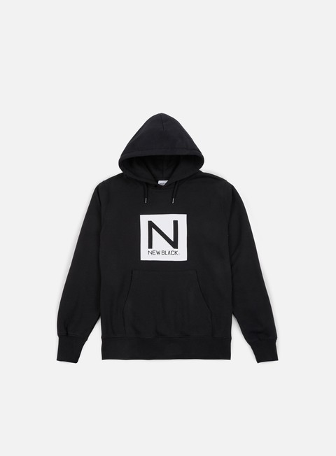 felpe new black box logo hoody black