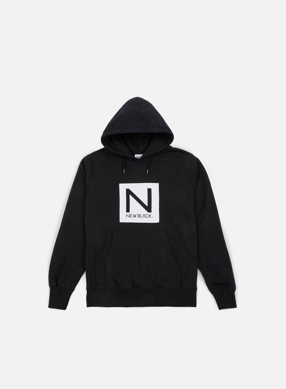 New Black Box Logo Hoody