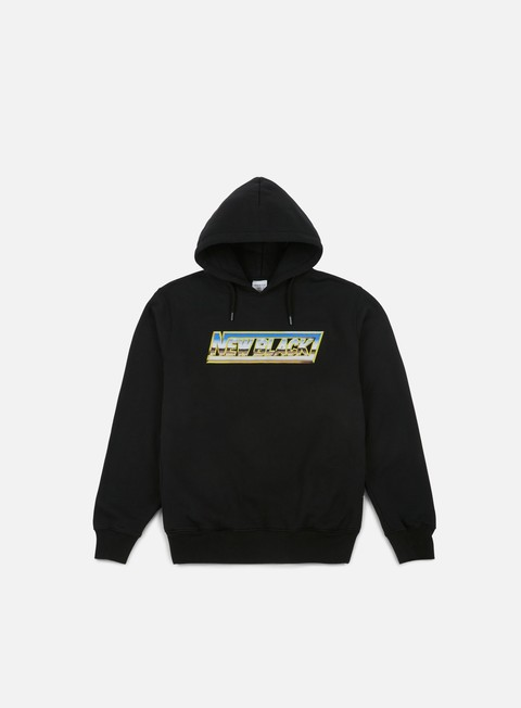 felpe new black chrome hoody black