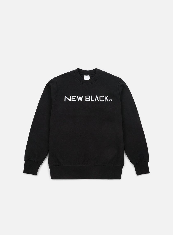 New Black Logo Crewneck
