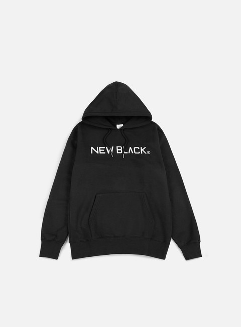 felpe new black logo hoody black