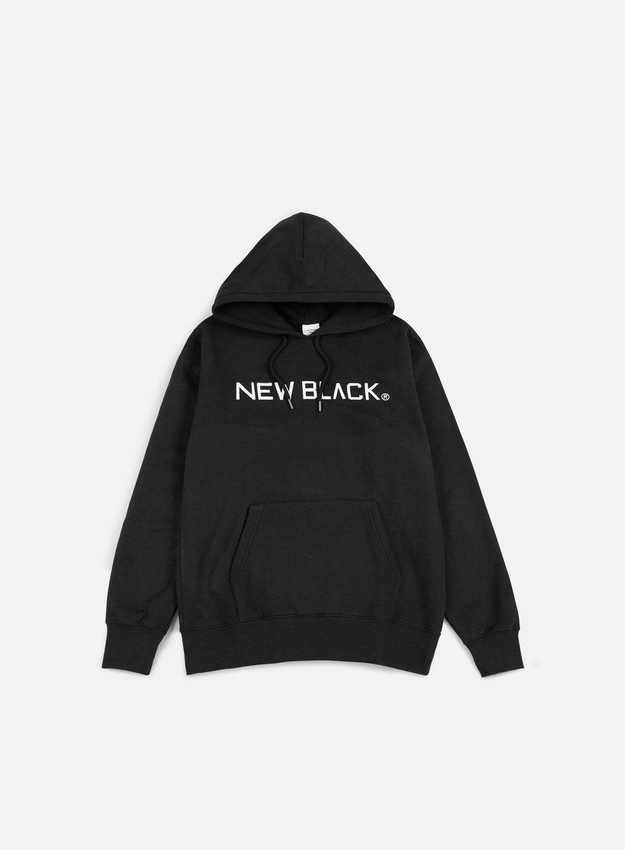 New Black Logo Hoody