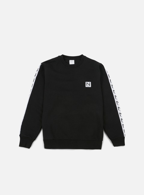 Outlet e Saldi Felpe Girocollo New Black Rakai Crewneck
