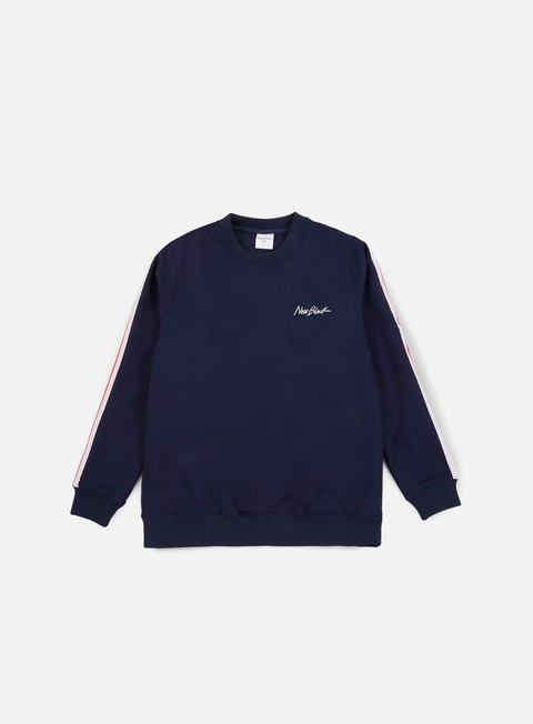 felpe new black road crewneck navy