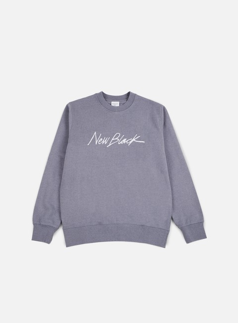 felpe new black signature crewneck syringa
