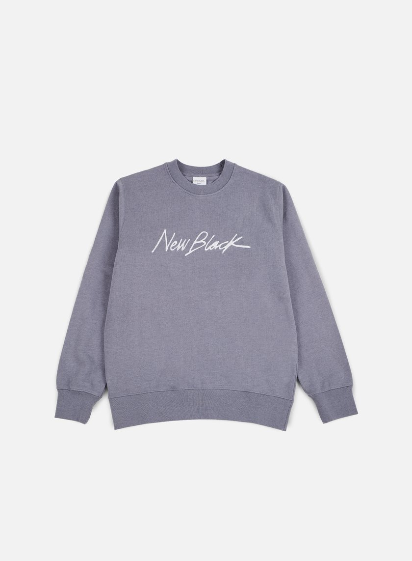 New Black - Signature Crewneck, Syringa