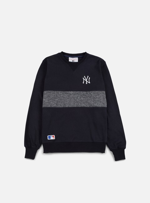 felpe new era concrete crewneck ny yankees navy