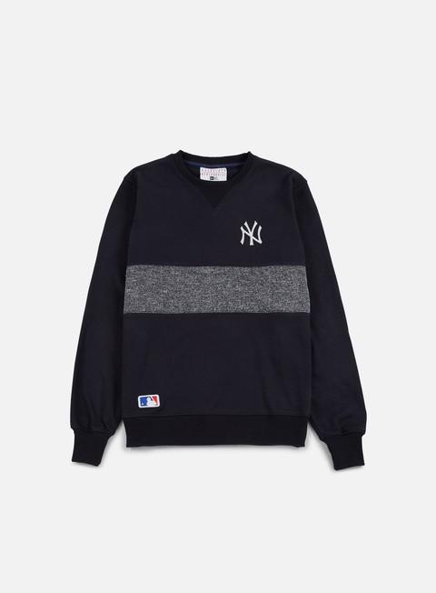 Outlet e Saldi Felpe Girocollo New Era Concrete Crewneck NY Yankees