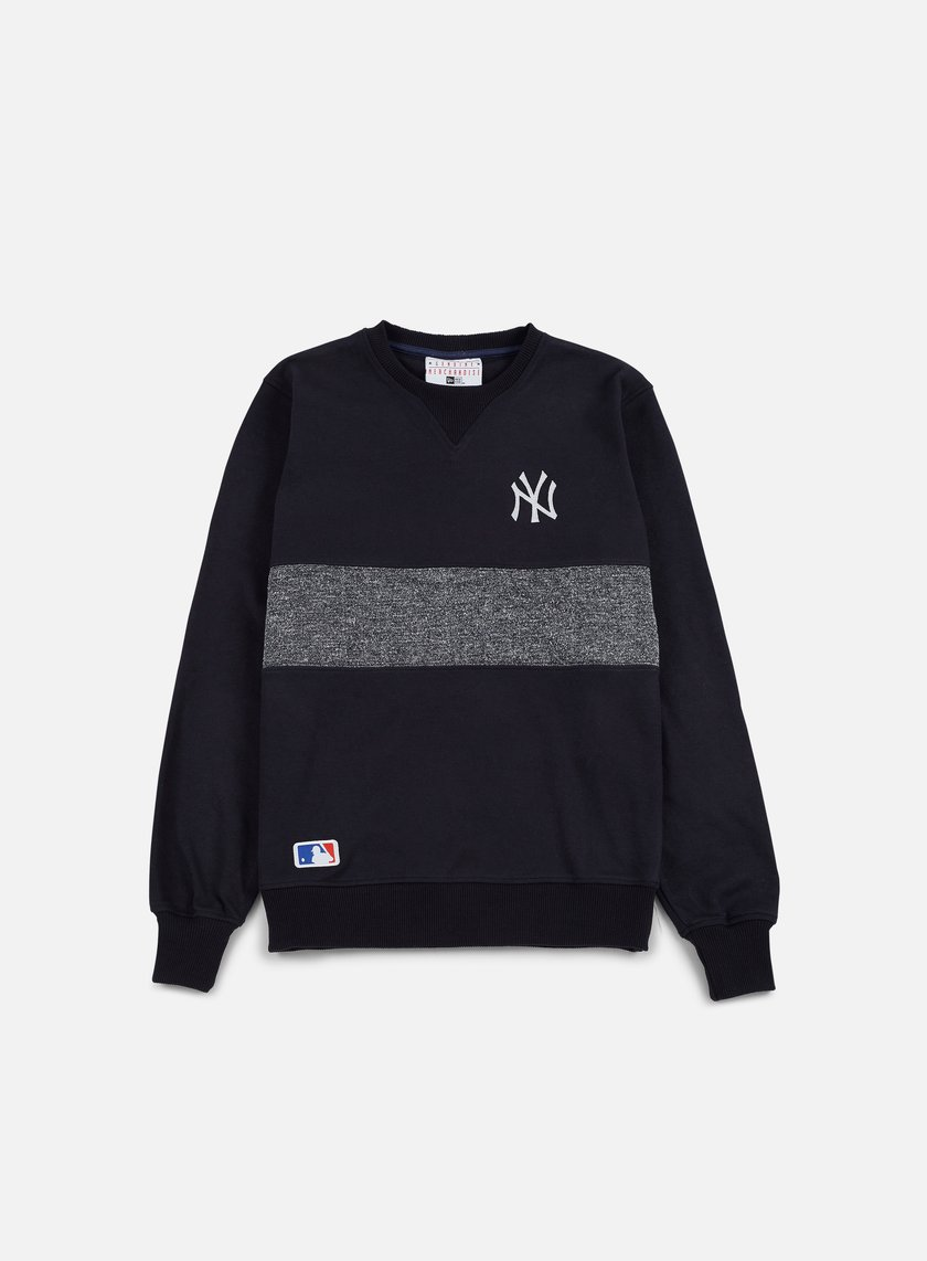 New Era - Concrete Crewneck NY Yankees, Navy
