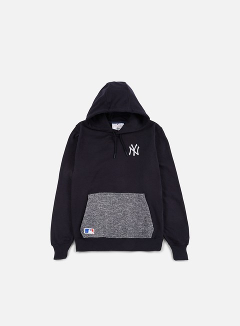 felpe new era concrete pullover hoody ny yankees navy