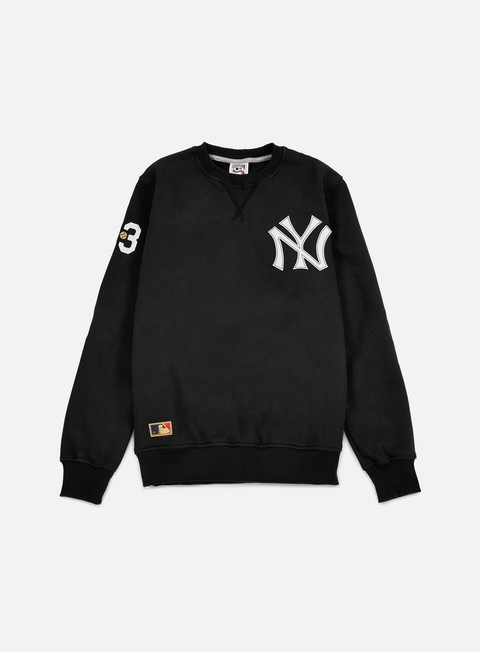 Outlet e Saldi Felpe Girocollo New Era Cooperstown Crewneck NY Yankees