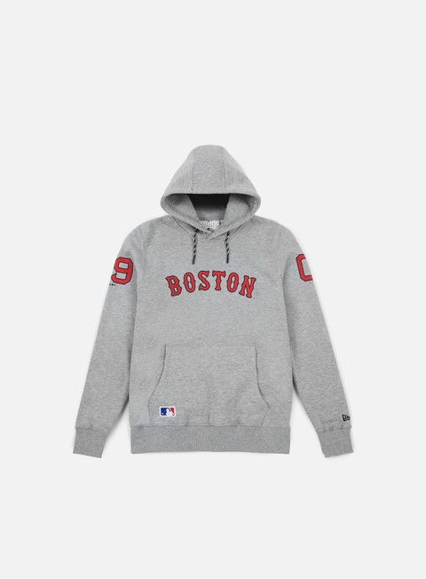 felpe new era east coast hoody boston red socks light grey heather