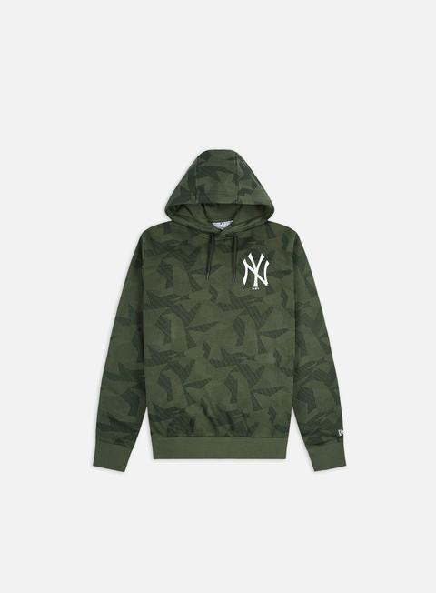 Felpe con Cappuccio New Era Geometric Camo Hoodie NY Yankees