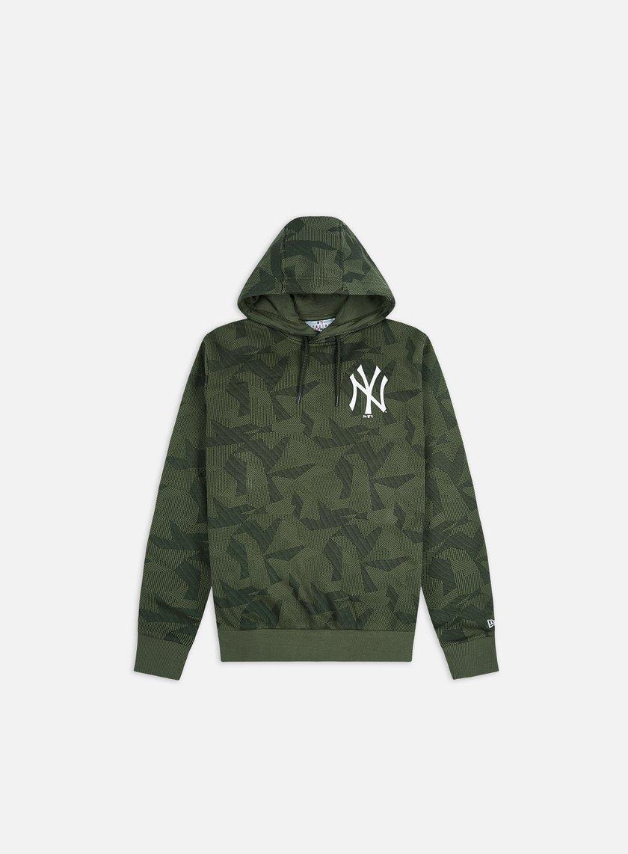 New Era Geometric Camo Hoodie NY Yankees