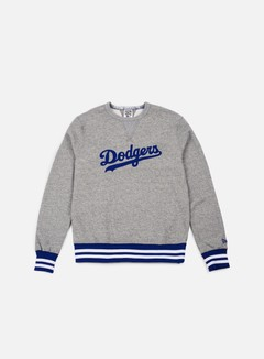 New Era - Heritage Crewneck Brooklyn Dodgers, Grey/Royal Blue 1