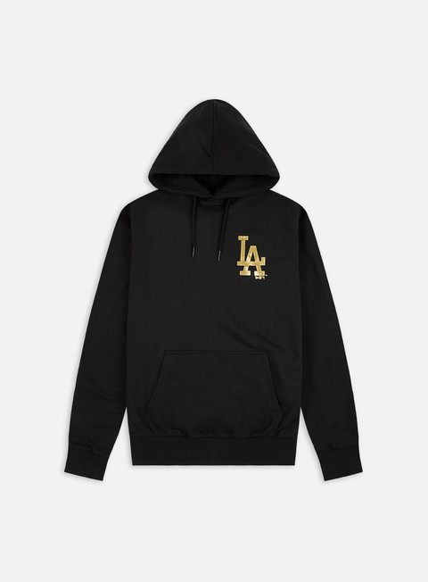 New Era Metallic Hoodie LA Dodgers