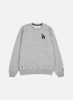 New Era - MLB Crewneck LA Dodgers, Light Grey Heather