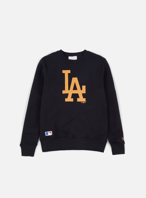 felpe new era mlb crewneck la dodgers navy