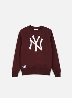 New Era - MLB Crewneck NY Yankees, Maroon