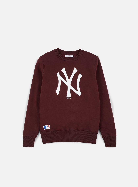 New Era - MLB Crewneck NY Yankees, Maroon