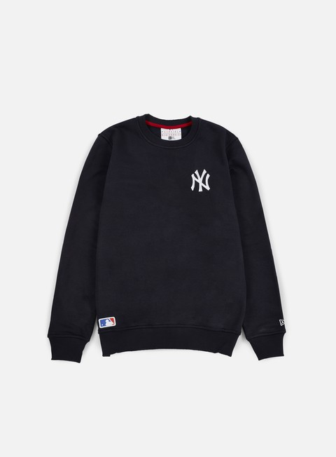felpe new era mlb crewneck ny yankees navy