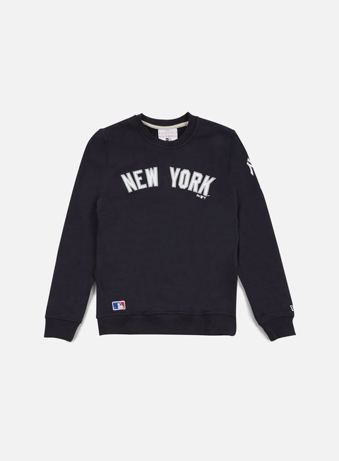 felpe new era mlb crewneck ny yankees navy old