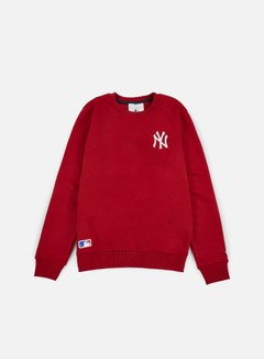 New Era - MLB Crewneck NY Yankees, Scarlet 1
