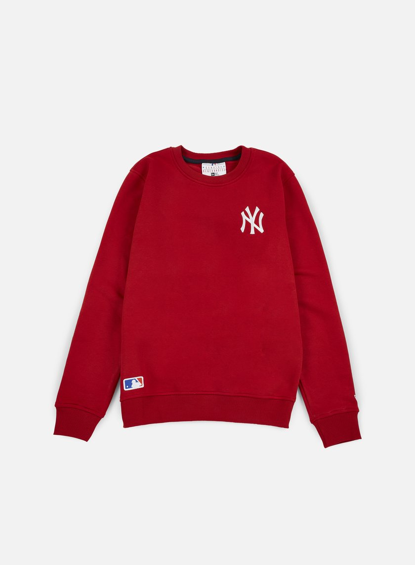 New Era - MLB Crewneck NY Yankees, Scarlet