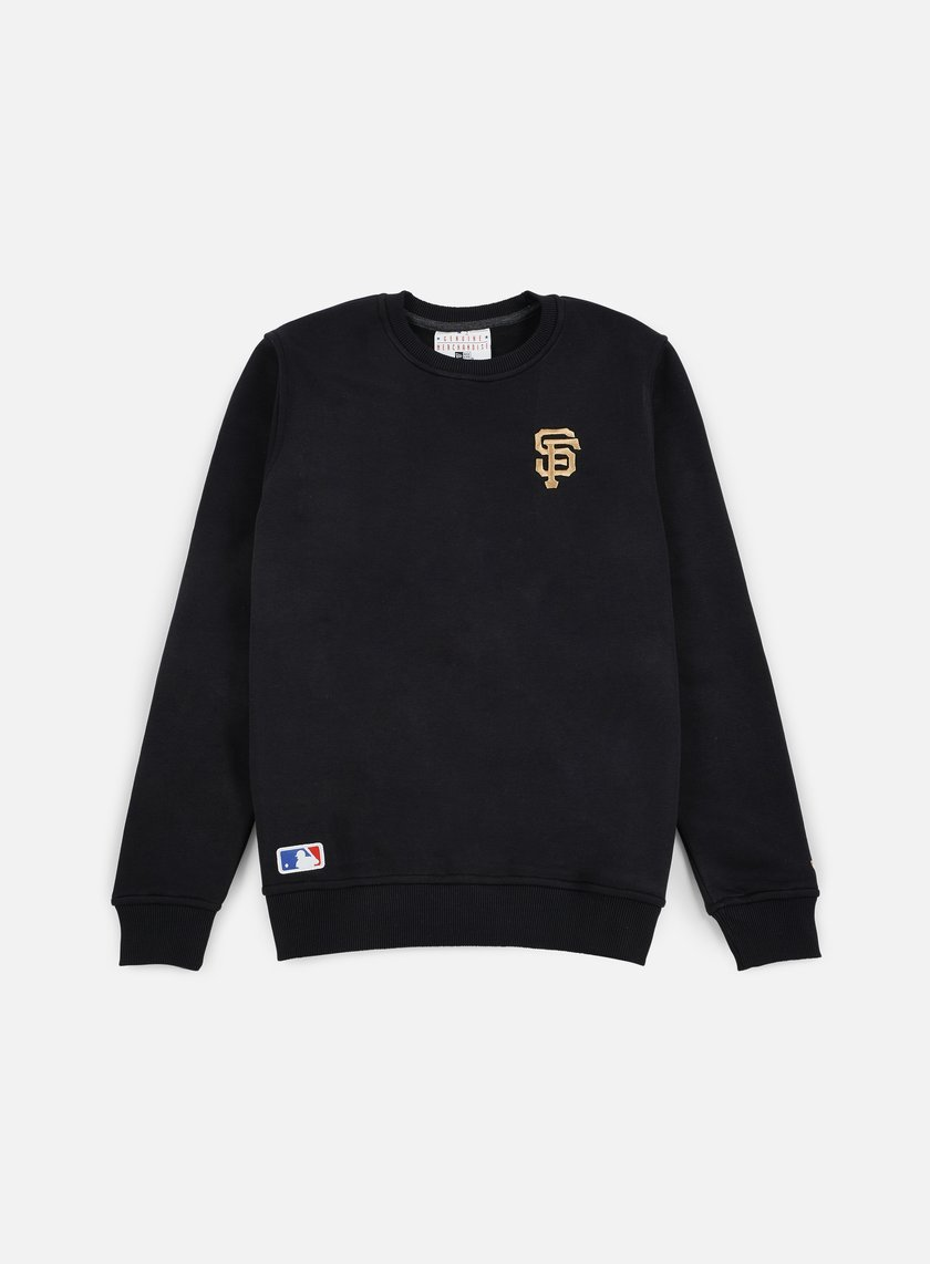 New Era - MLB Crewneck San Francisco Giants, Black