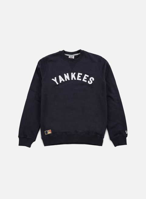 Outlet e Saldi Felpe Girocollo New Era MLB CT Crewneck NY Yankees