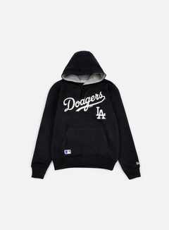 New Era - MLB Hoody LA Dodgers, Black 1