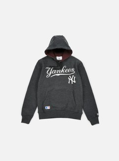 New Era - MLB Hoody NY Yankees, Grey Heather 1