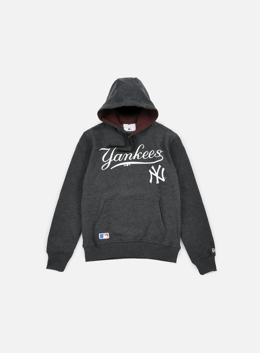 New Era - MLB Hoody NY Yankees, Grey Heather