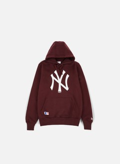 New Era - MLB Hoody NY Yankees, Maroon
