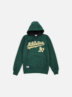 New Era - MLB Hoody Oakland Athletics, Dark Green 1