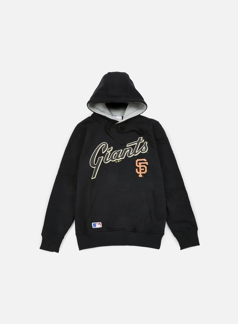 felpe new era mlb hoody san francisco giants black