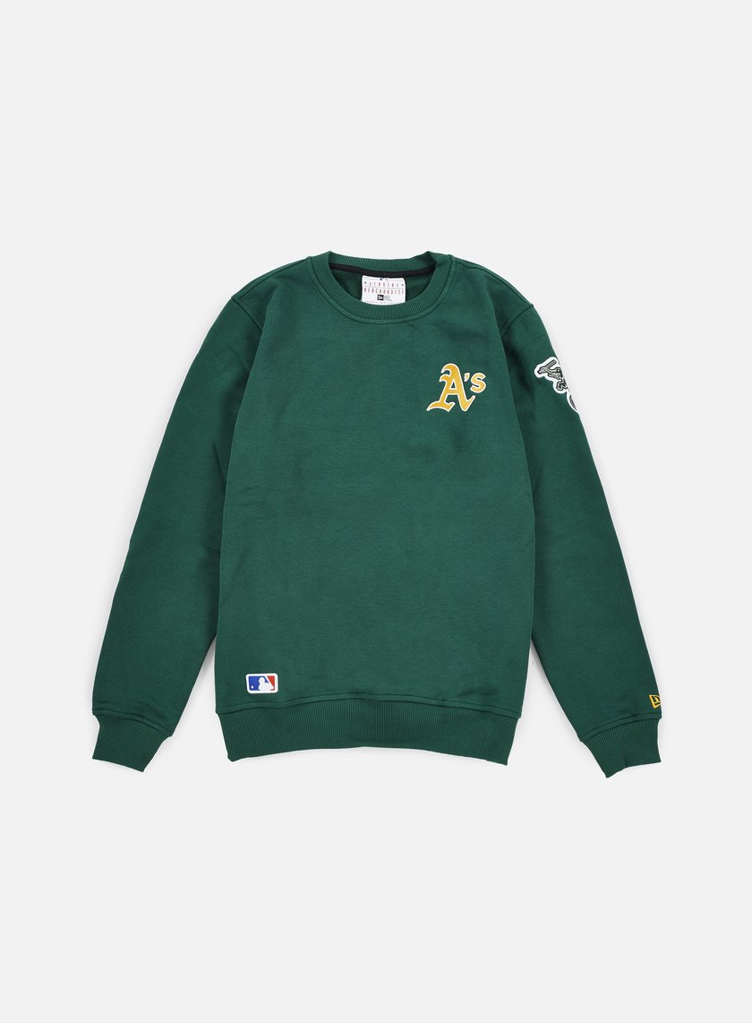 a42a49cf NEW ERA MLB Patch Crewneck Oakland Athletics € 30 Crewneck ...