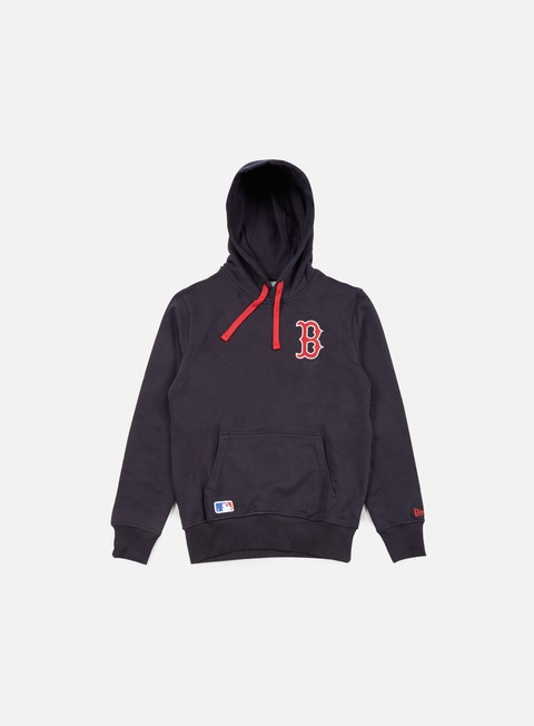 Outlet e Saldi Felpe con Cappuccio New Era MLB Pullover Hoody Boston Red Socks